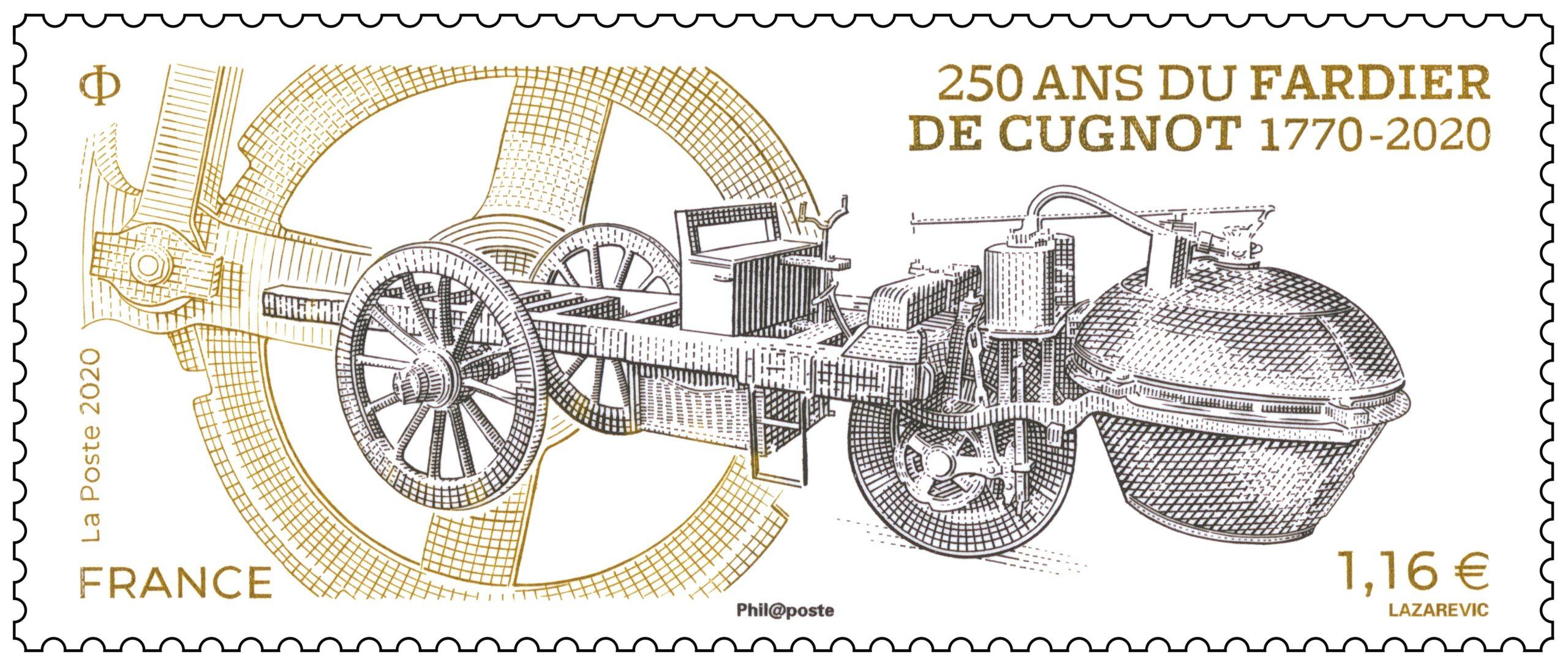 250 ans du fardier de Cugnot 1770-2020