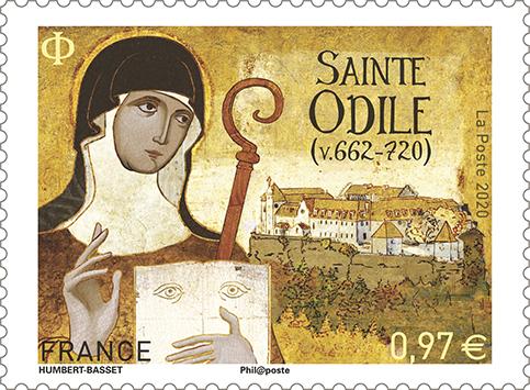 Sainte Odile (v.662-720)