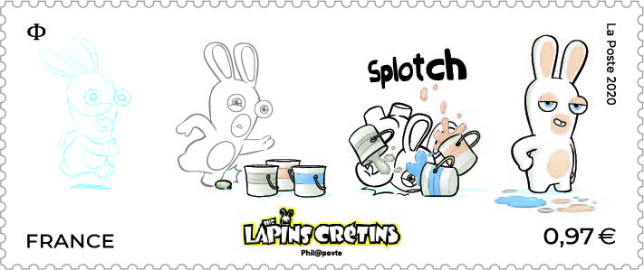 The Lapins Crétins dessine-moi un lapin
