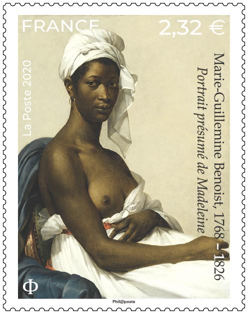 Marie-Guillemine Benoist 1768 – 1826 Portrait présumé de Madeleine