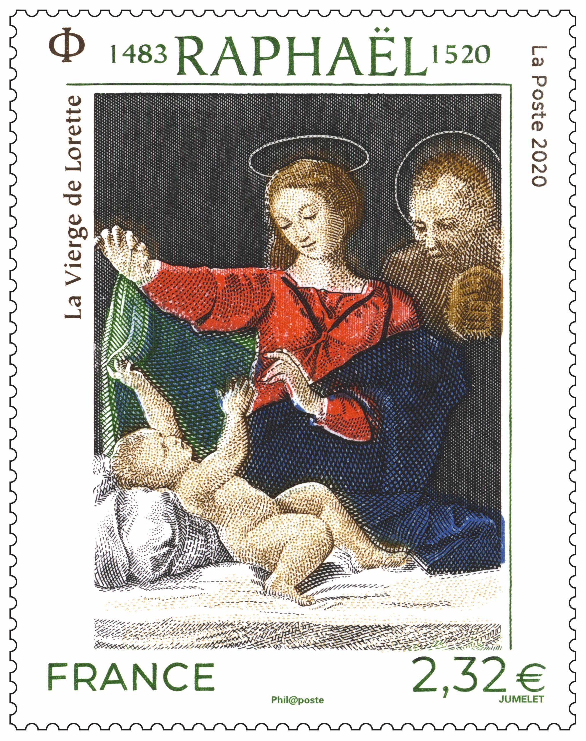 Raphaël 1483 - 1520 La Vierge de Lorette