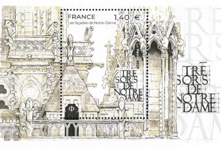 Trésors de Notre-Dame 2020 les façades