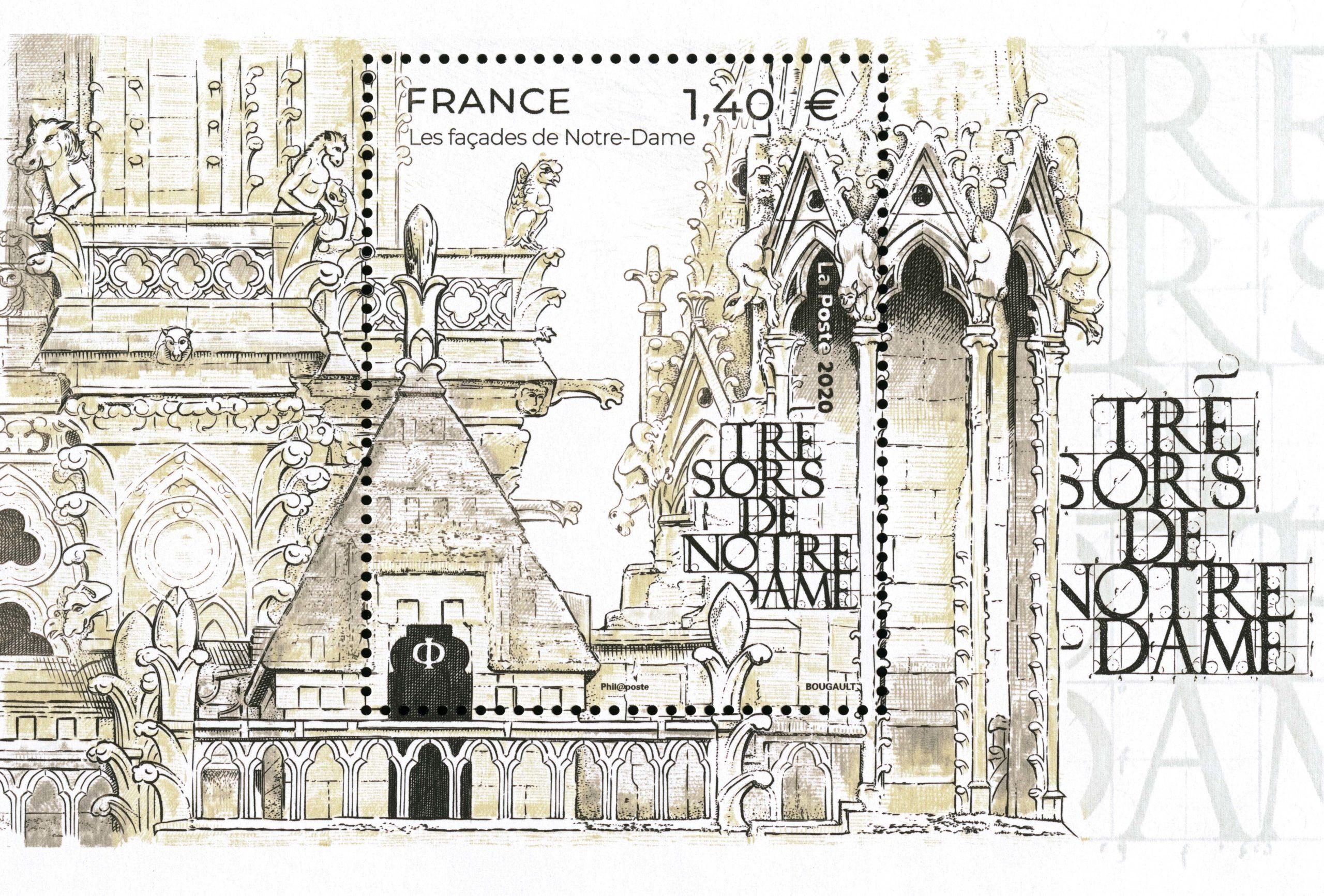 Les façades de Notre-Dame