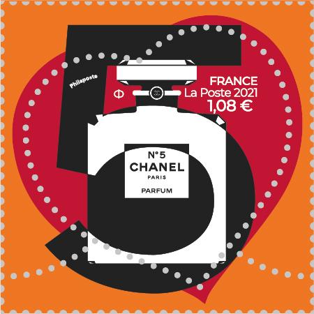 Timbres Cœur Chanel