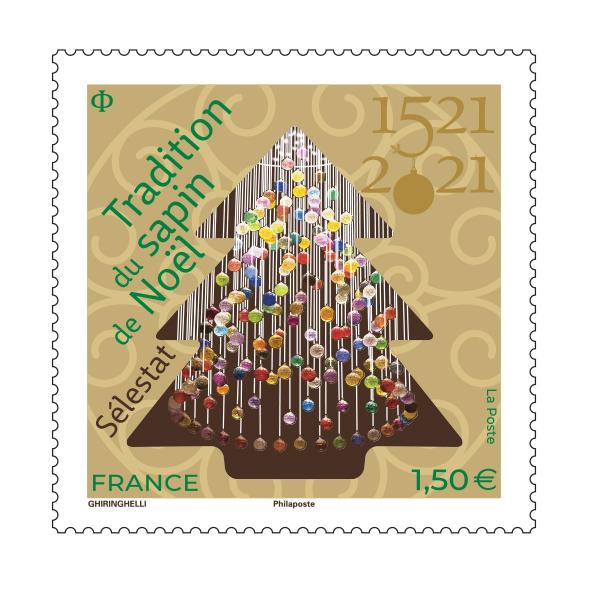 1521 Tradition du sapin de Noël – Sélestat 2021