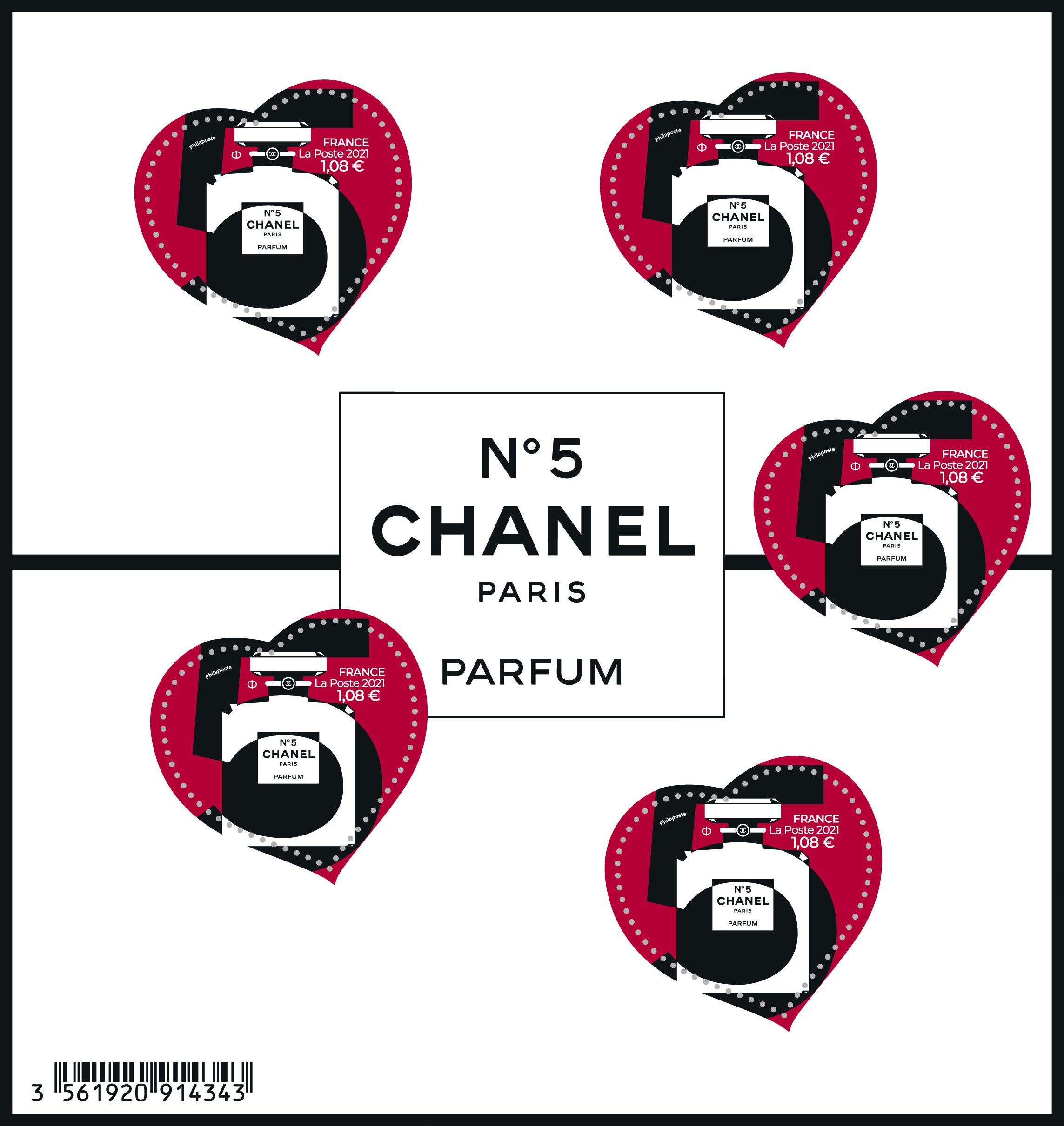 Bloc cœur Chanel