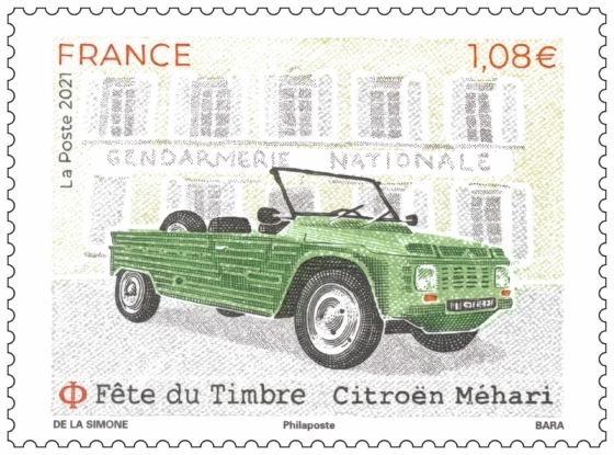 Fête du Timbre Citroën Méhari
