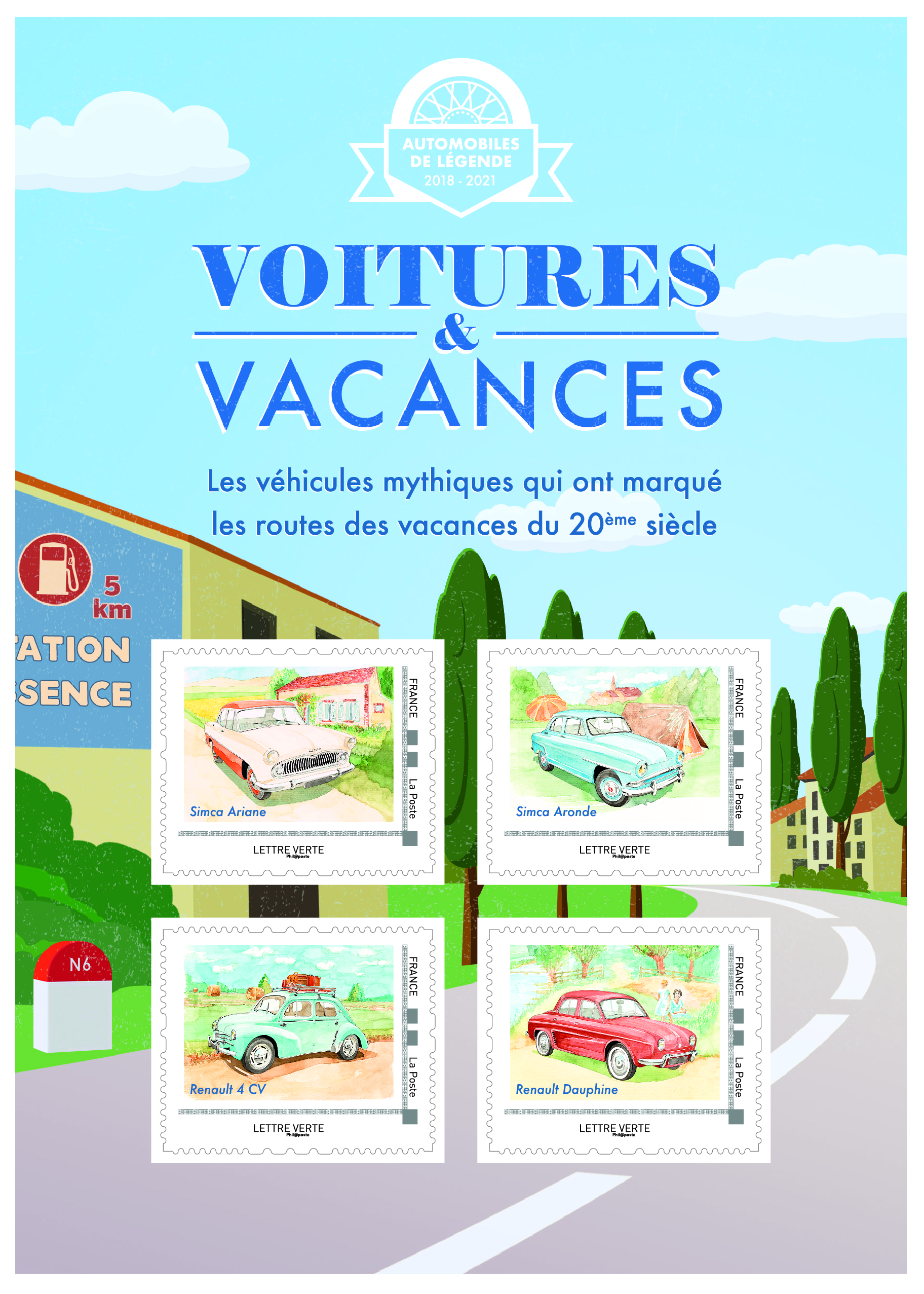 Collector Voitures & Vacances - Campagne