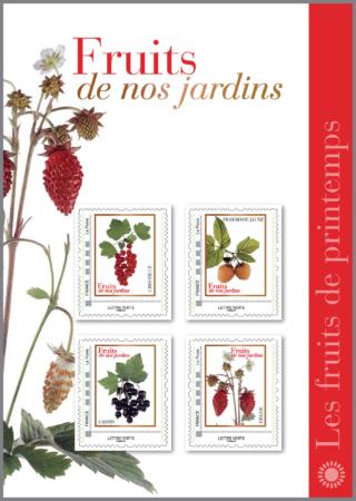 Collector Fruits de nos jardins Printemps