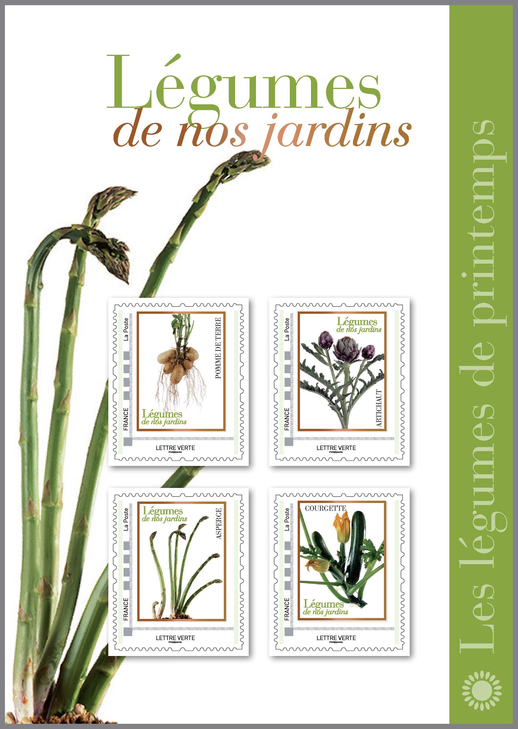 Collector Légumes de nos jardins - Printemps