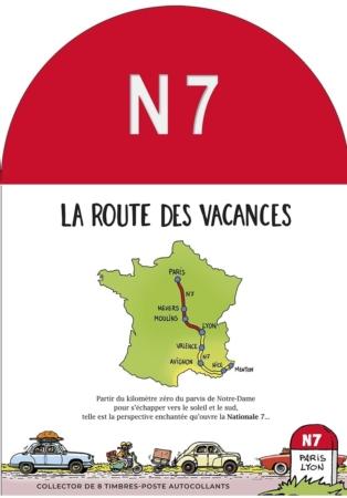 Couverture collector N7 la route des vacances