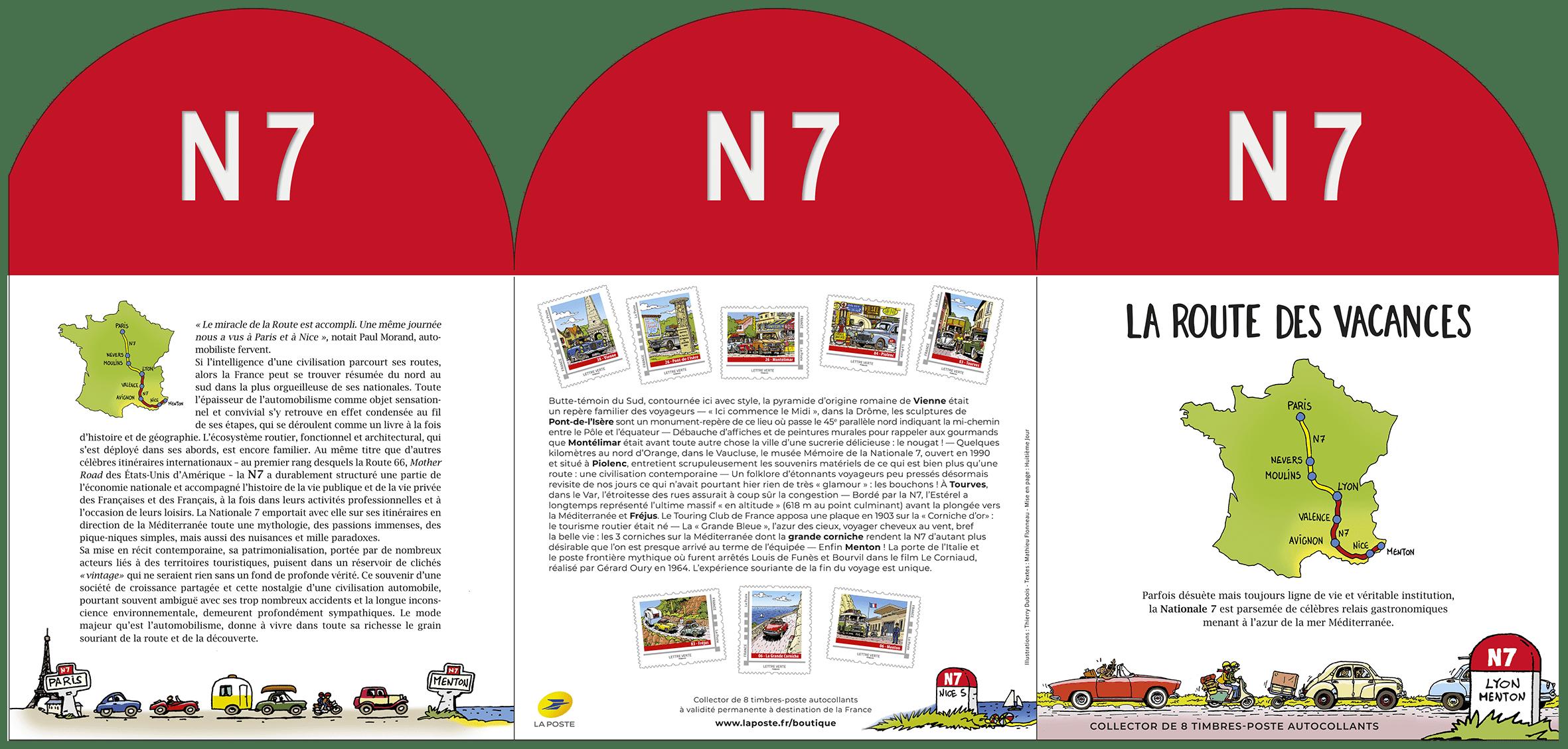 Collectors N7 La route des vacances