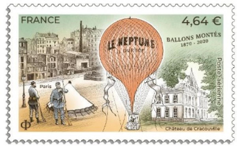 Ballons montés 1870 - 2020