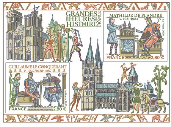 Les Grandes Heures de l'Histoire de France Mathilde de Flandre - Guillaume le Conquérant