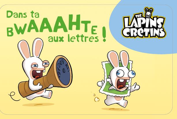 Carnet The Lapins Crétins