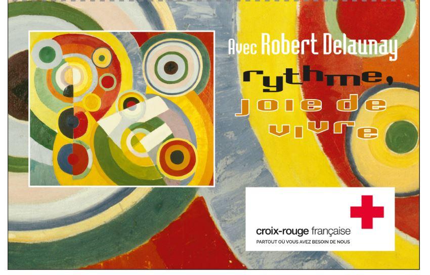 Carnet Croix-Rouge française Rythme, joie de vivre avec Robert Delaunay