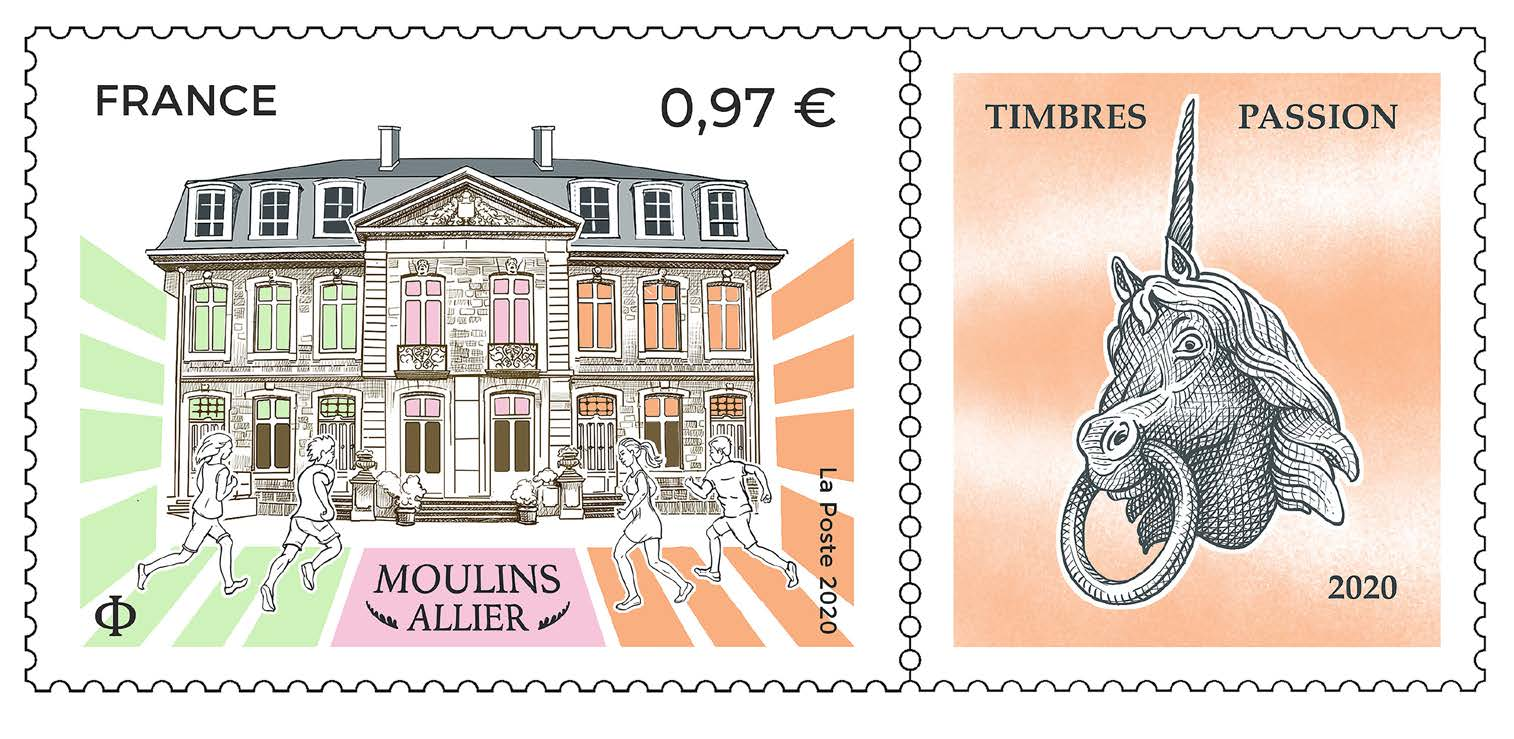 Moulins Allier – Timbres Passion 2020