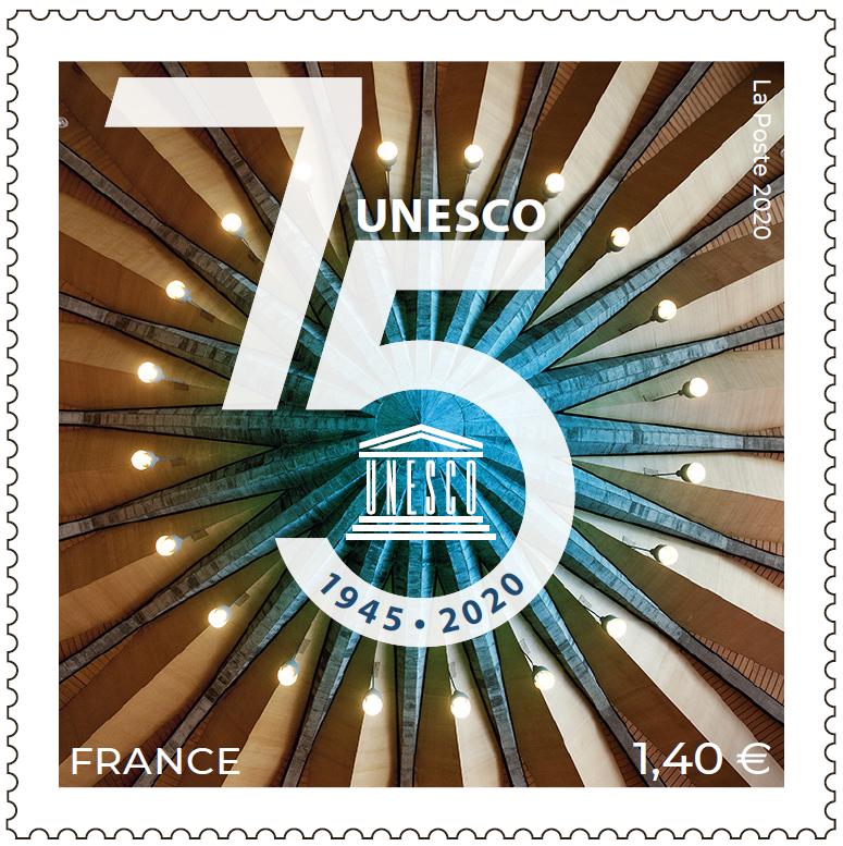 1945 - 2020 75e Anniversaire de l'UNESCO