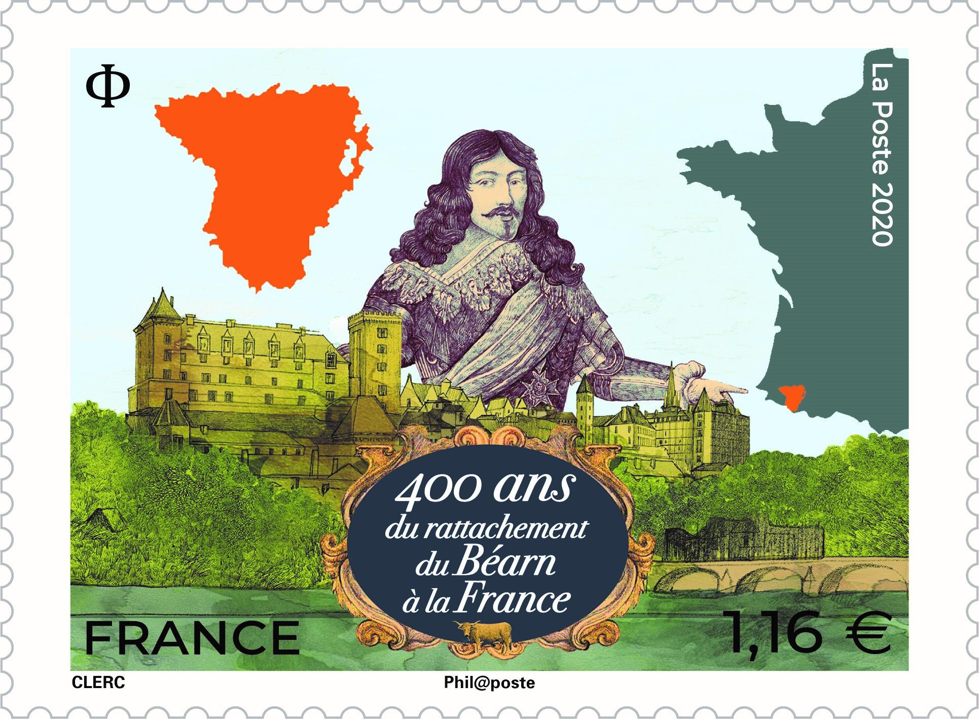 400 ans du rattachement du Béarn à la France