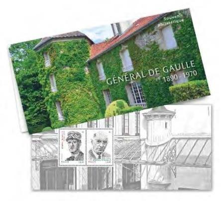 Souvenir phialtélique De Gaulle