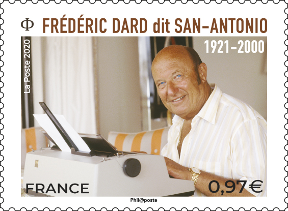 Frédéric Dard dit San Antonio 1921-2000