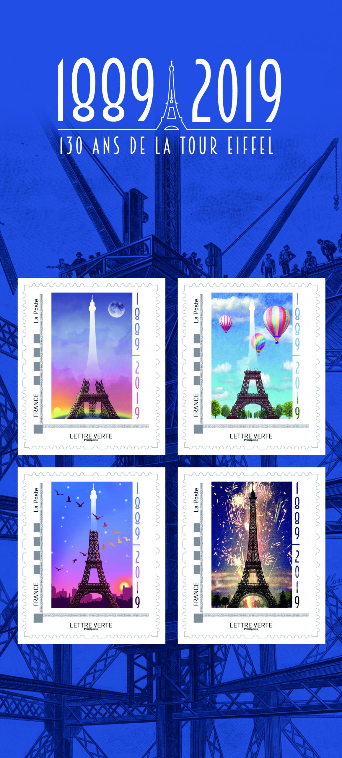 Collectors 130 ans de la Tour Eiffel 1889-2019