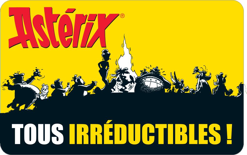 Carnet Astérix Tous irréductibles !