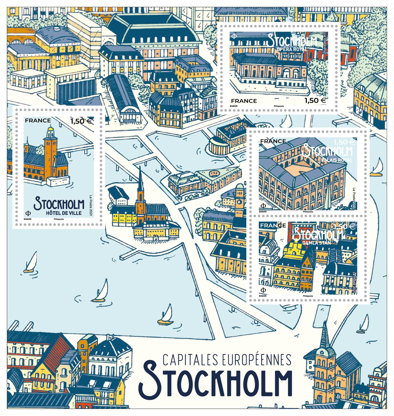 Capitales européennes - Stockholm