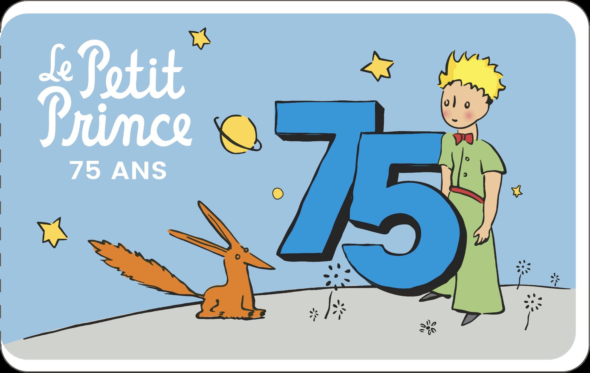 Le Petit Prince 75 ans