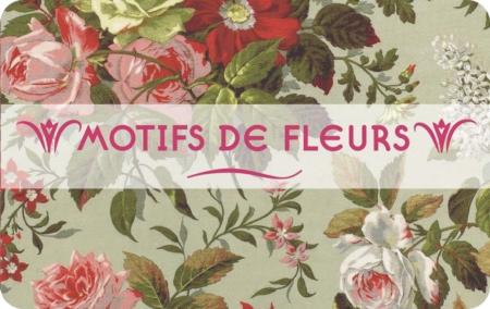 Motifs de fleurs couv