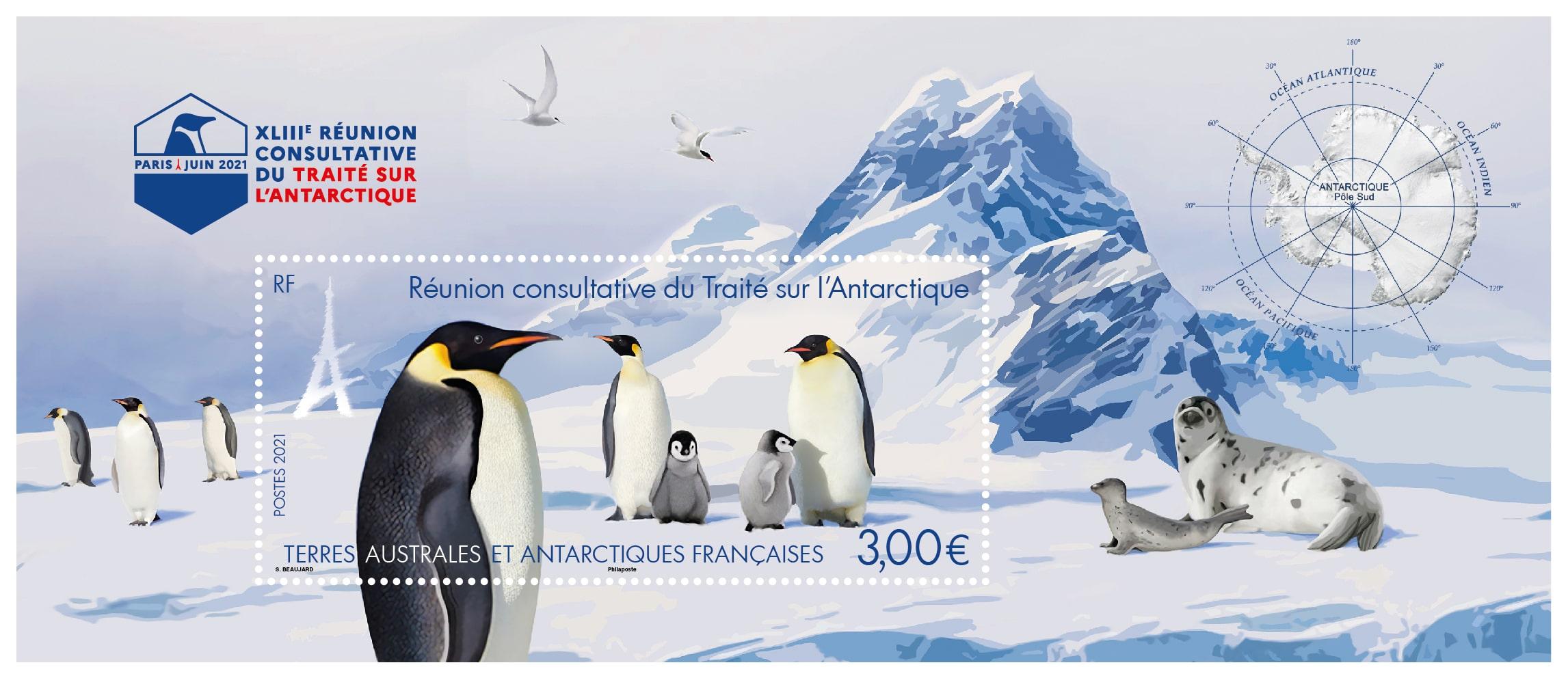 TAAF : 43e Réunion consultative du Traité sur l'Antarctique