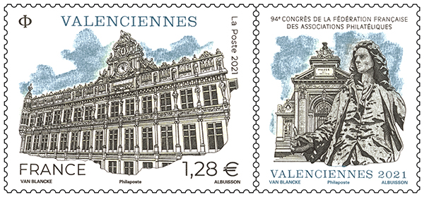 Valenciennes – 94e Congrès de La Fédération Française des Associations Philatéliques