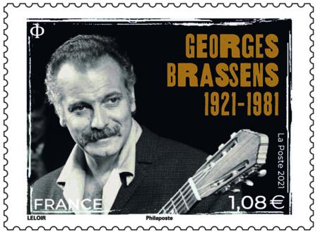 Timbre Brassens 1921_1981