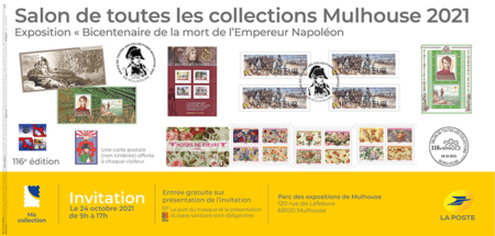 Invitation salon de Mulhouse