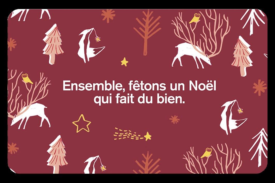 Carnet Ensemble, fêtons un Noël qui fait du bien